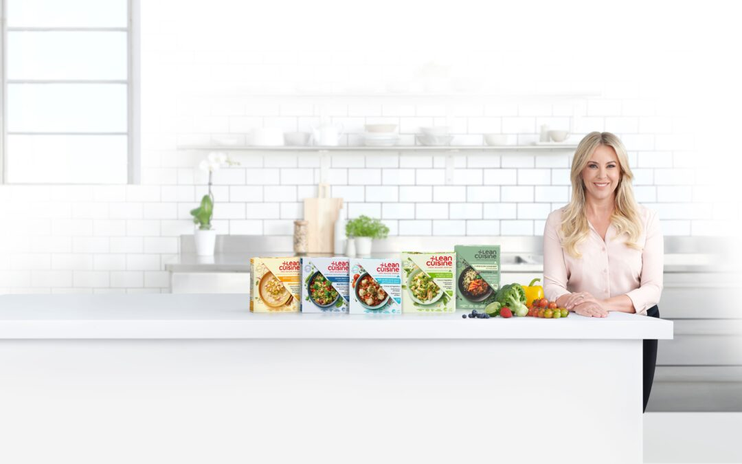 Exciting news. Announcing my partnership with Lean Cuisine.