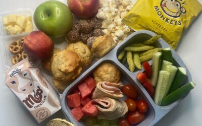Getting the school lunchboxes right.